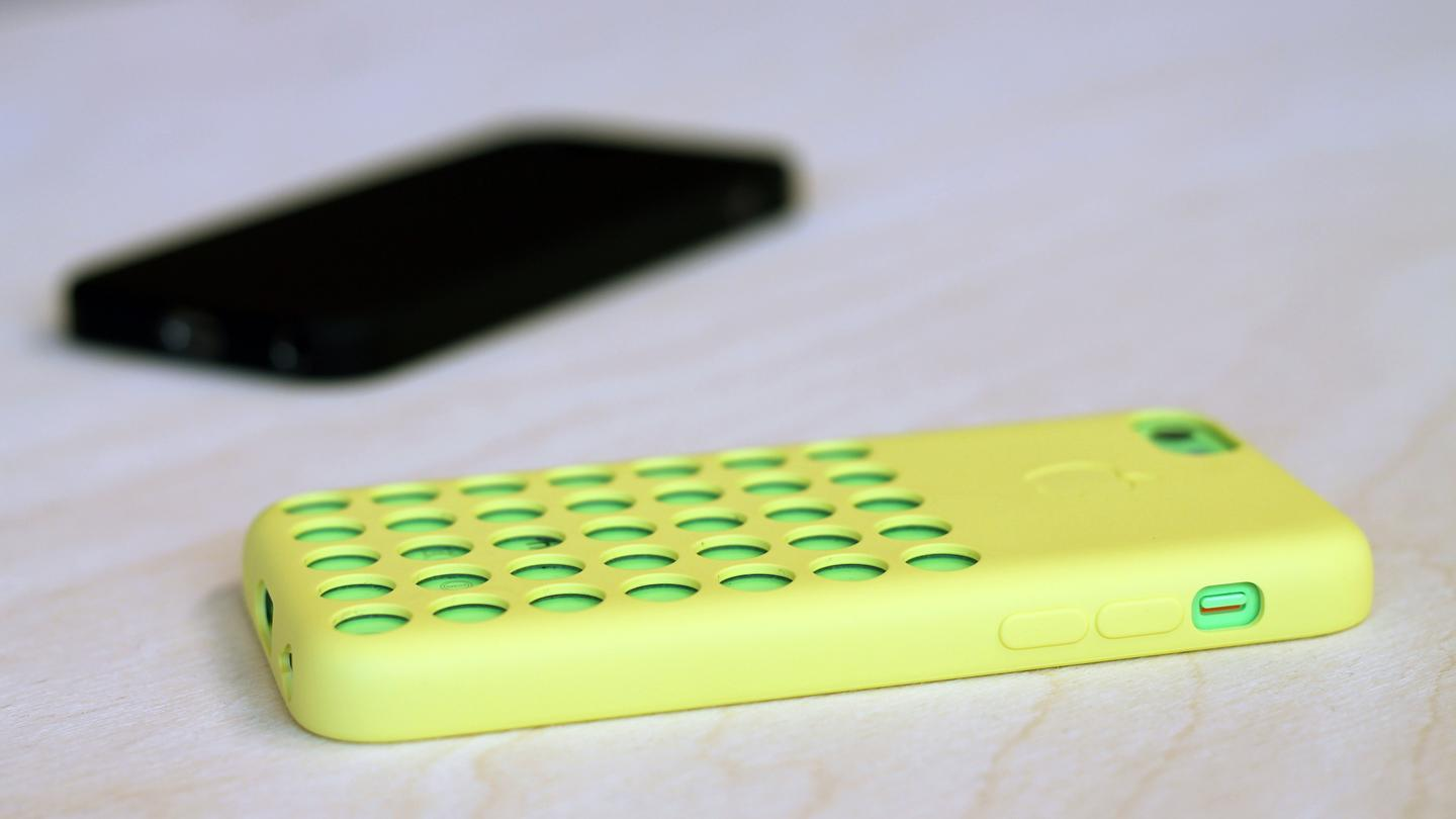 Apple sells a $30 plastic case for the iPhone 5c