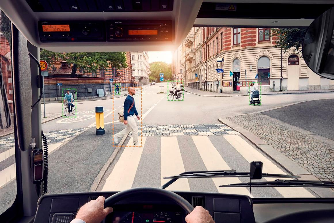 The technology will be fitted to all urban city buses from 2017