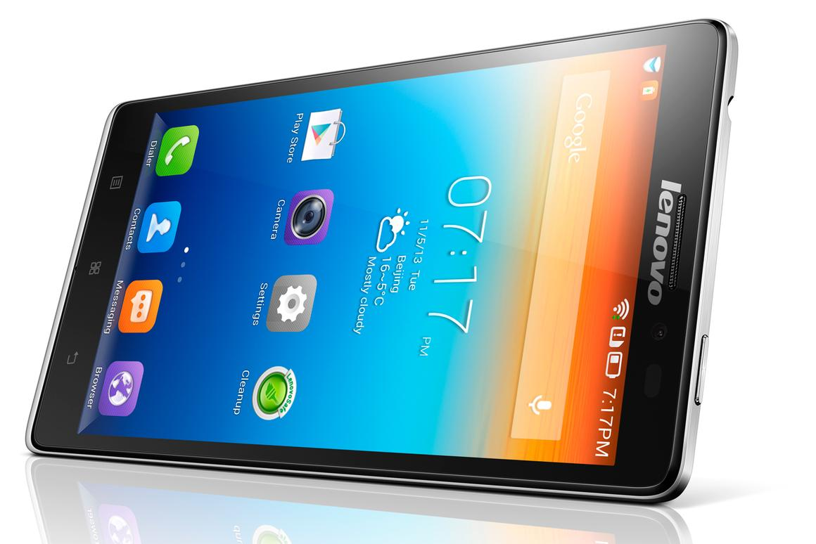 Lenovo's first 4G device, the Vibe Z, measures 7.9 mm (0.31 in) thick, weighs 147 g (5.1 oz) and sports a 5.5-inch (1920 x 1080) Full HD IPS display