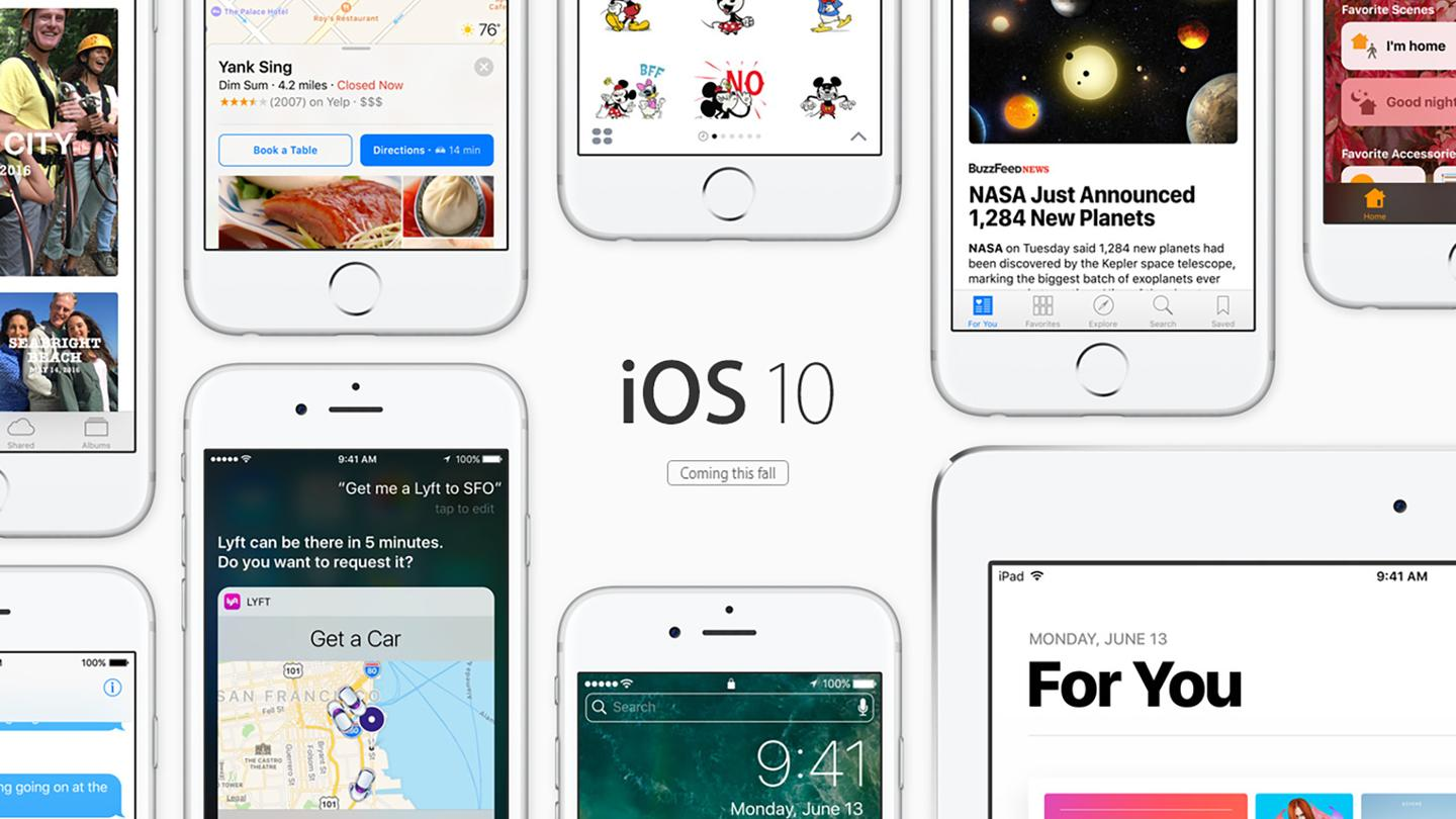 Apple has announced iOS 10, which will be available later this year