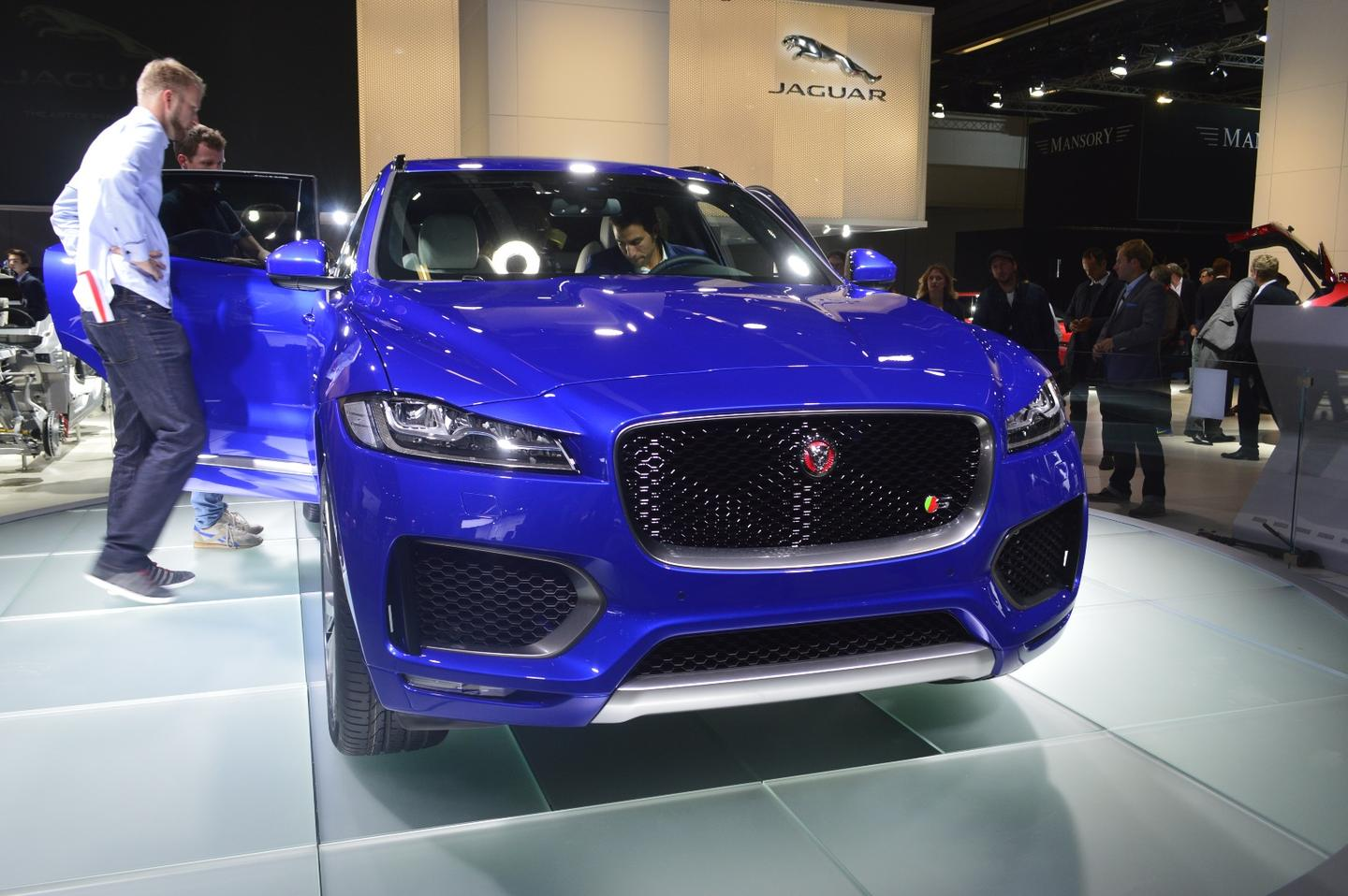The F-Pace in Frankfurt