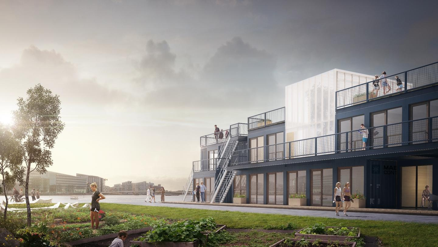 CPH Containers plans to begin constructing its first student village later this year