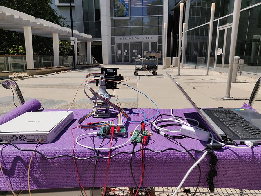 In outdoor tests the new mmWave 5G system was able to provide a stable connection up to 80 m (262.5 ft) away