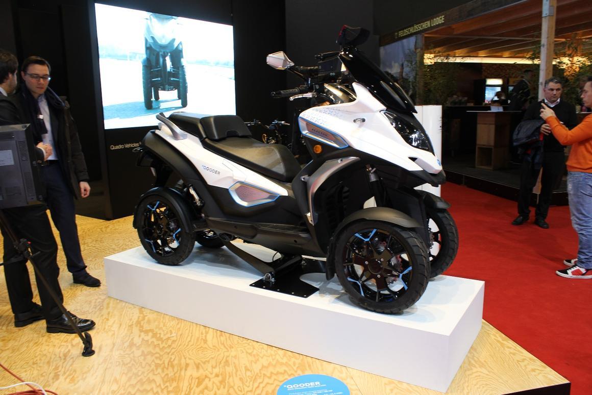 Quadro Qooder 400cc tilting four-wheel scooter soon to get
