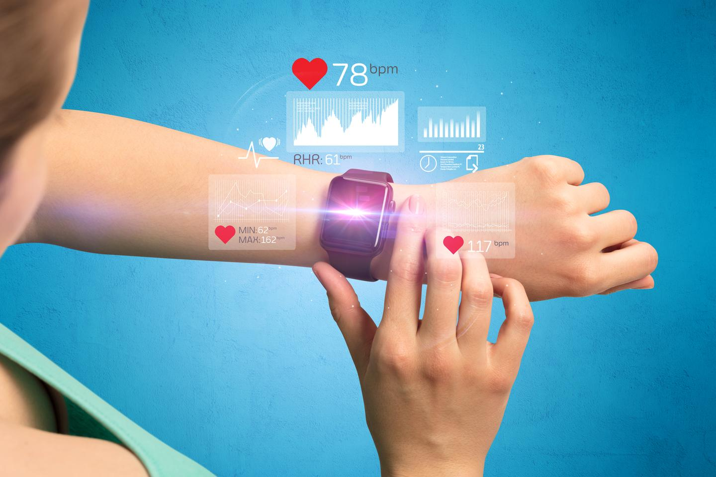 A preliminary study found over 90 percent of depressed patients could be identified from 24 hours of heart rate data