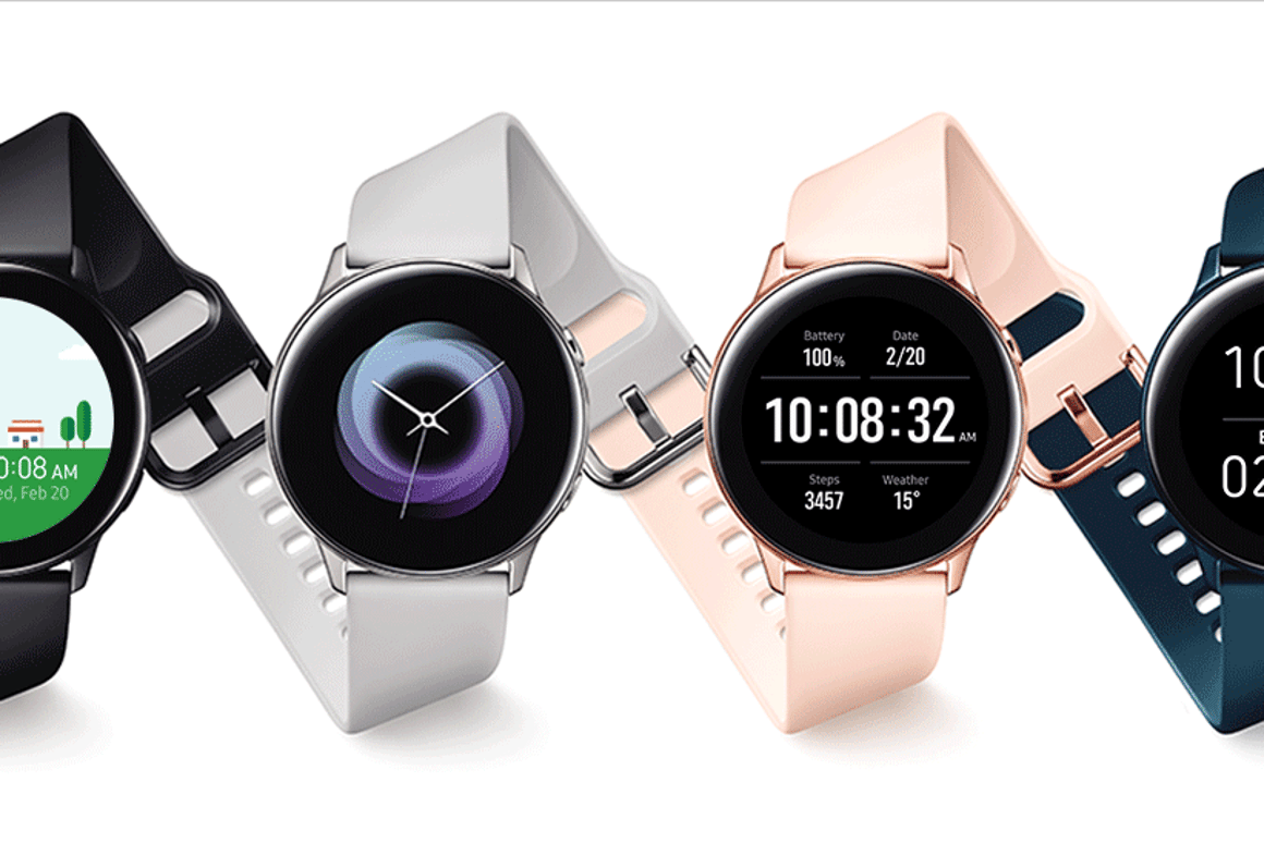 Samsung's new Galaxy Watch Active will be available from March 8