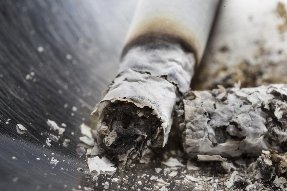 Cigarette ash could now have another use besides ... well, nothing (Photo: Shutterstock)