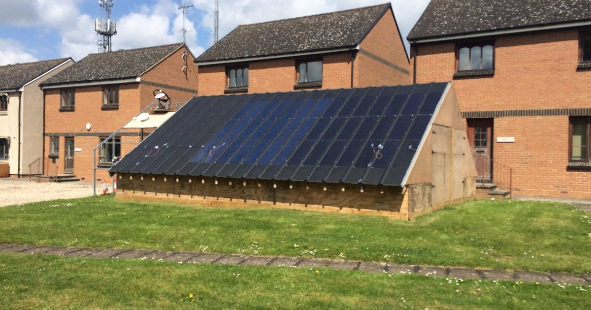 Hybrid solar roofing system uses heat pipes to boost efficiency