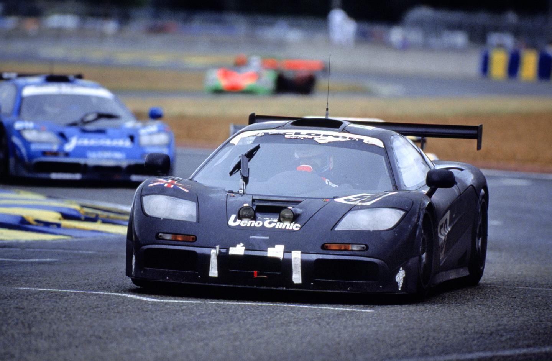 McLaren F1 GTR victory at 24 Heures du Mans1995