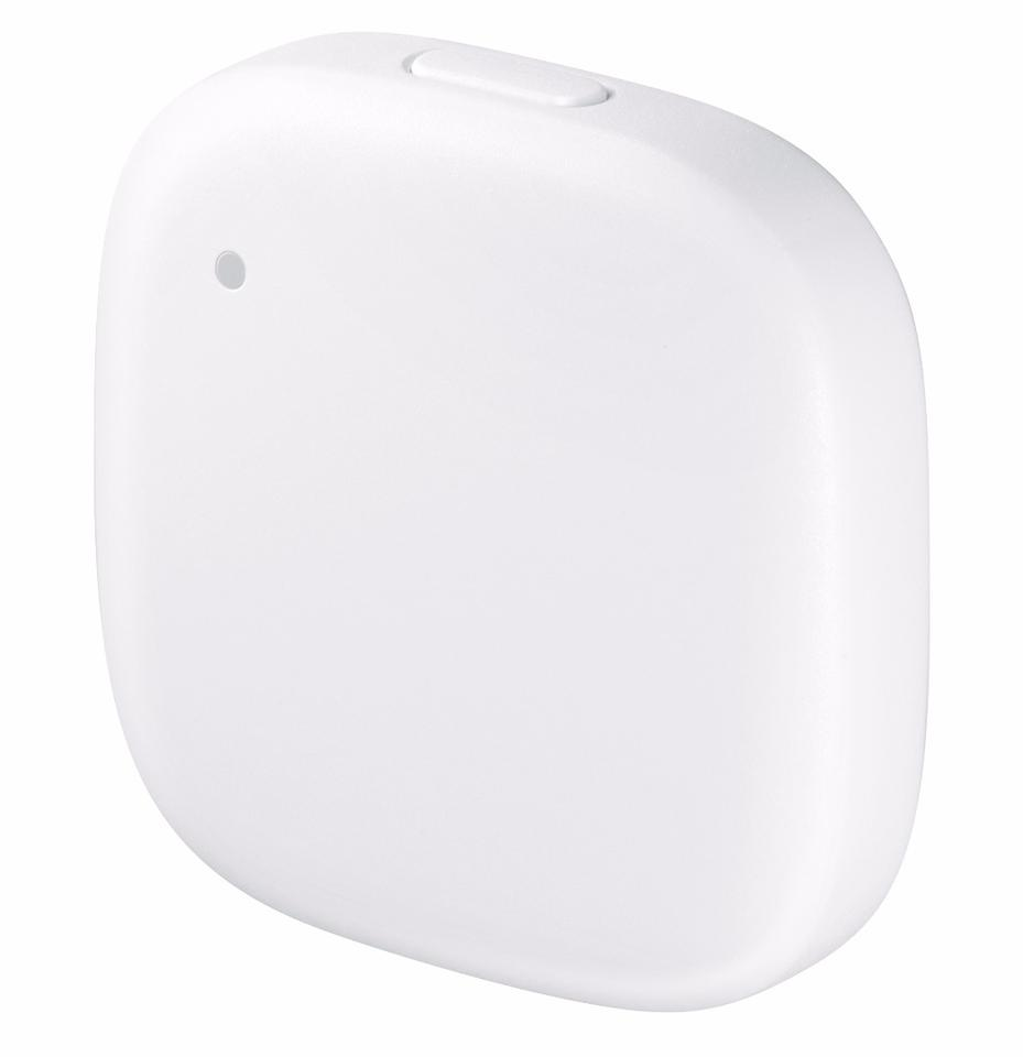 The Samsung Connect Tag can ping its location to an app on demand or periodically, and integrate with other Internet of Things devices