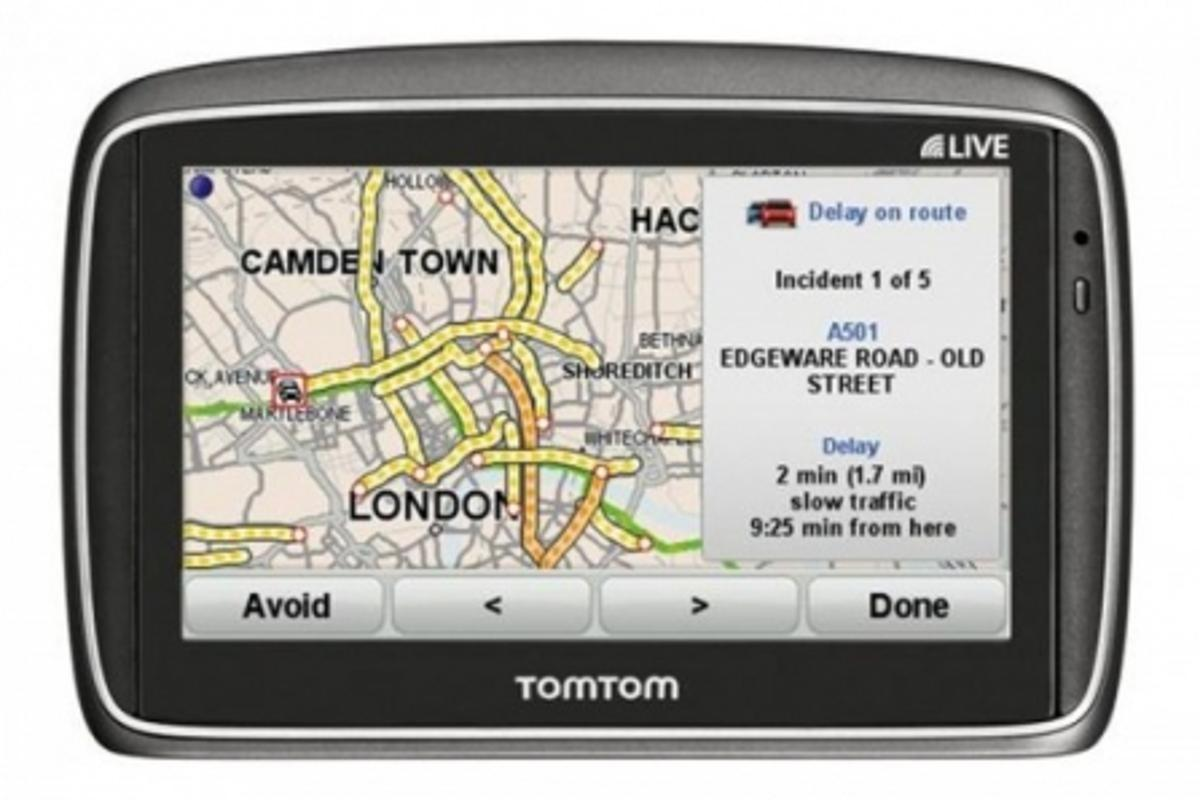 The TomTom GO 950 LIVE features an improved UI and live data feeds for the road.