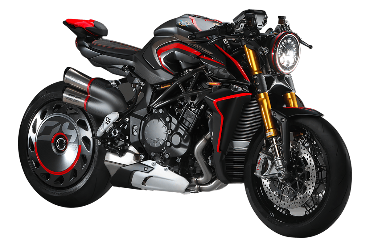 Back in the Swing of Things, MV Agusta Rush 1000