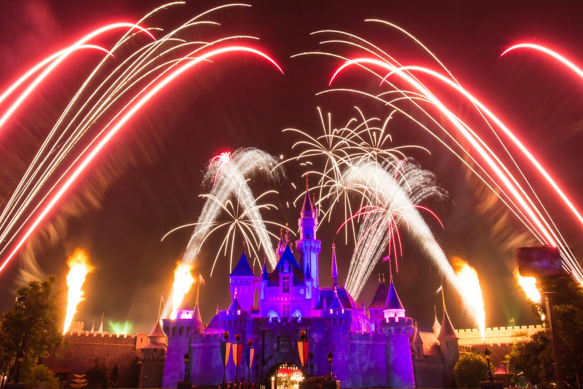 A number of patent applications suggest Disney is looking to use UAVs in its theme park shows (Photo: Hatchapong Palurtchaivong / Shutterstock.com)