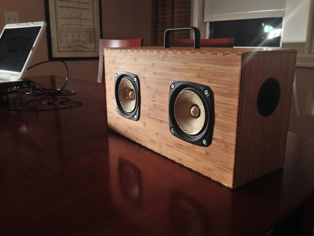 The supercapacitor-powered Helium Bluetooth speakers from Blueshift