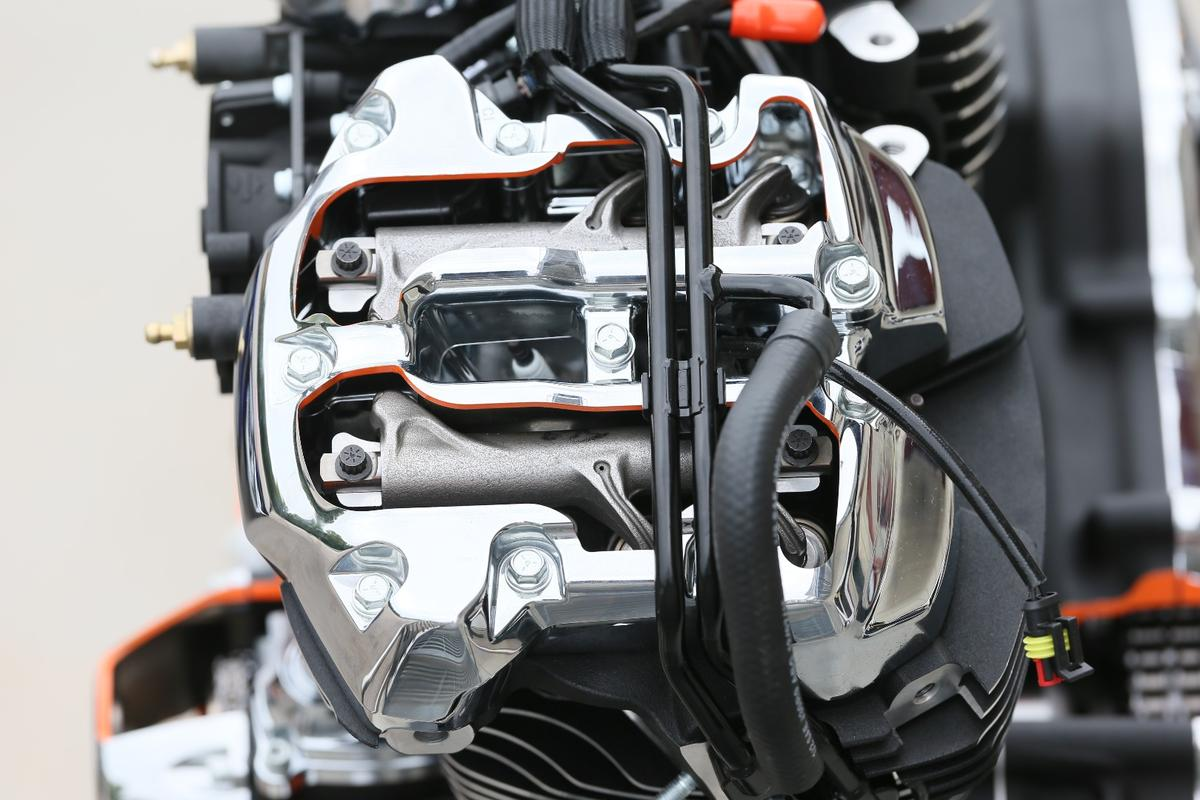 Harley-Davidson Milwaukee Eight: rocker arms