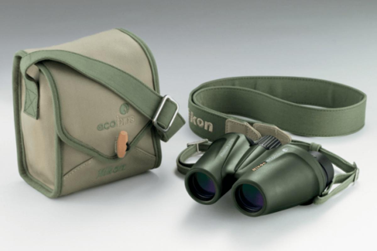 Nikon introduce eco-friendly ecobins binoculars