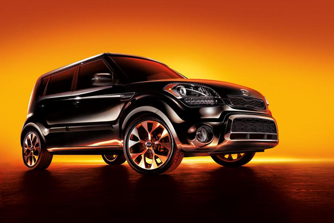 Kia's existing Soul (pictured) will be joined by a fully-electric model next year