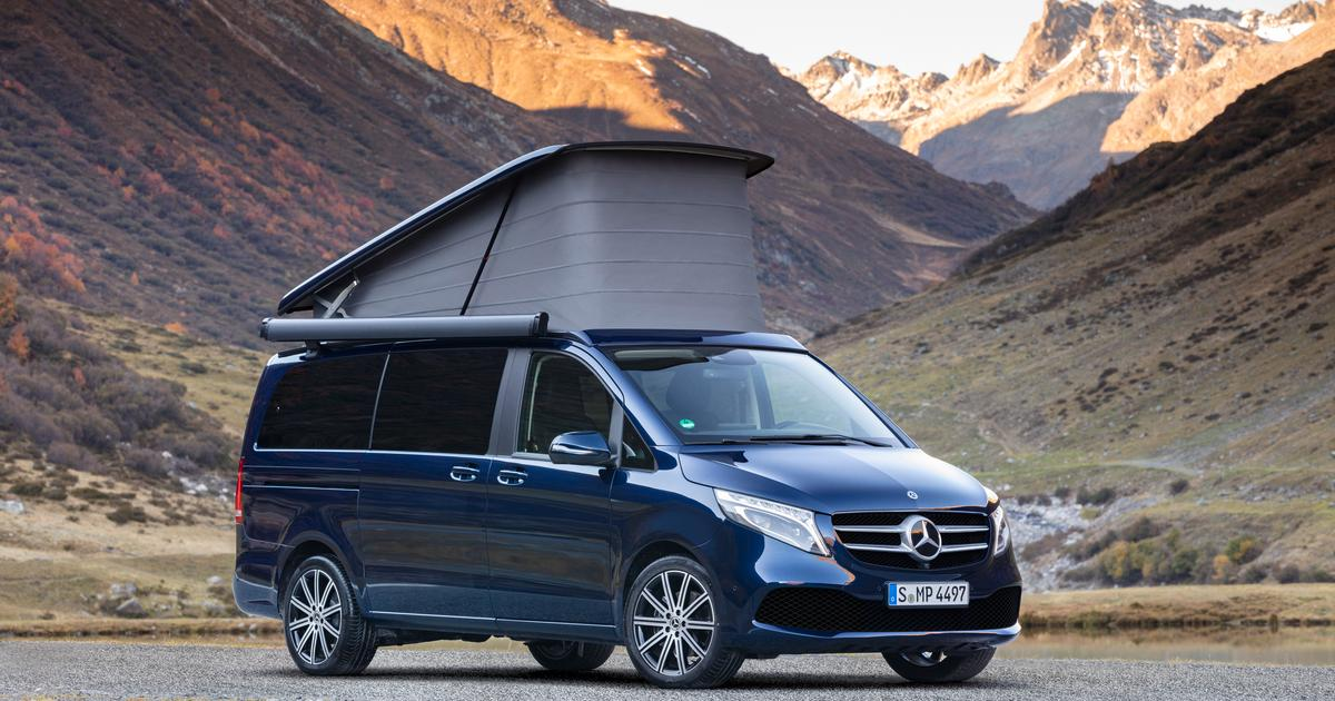 mercedes refreshes the v class van and camper vans v class van and camper vans