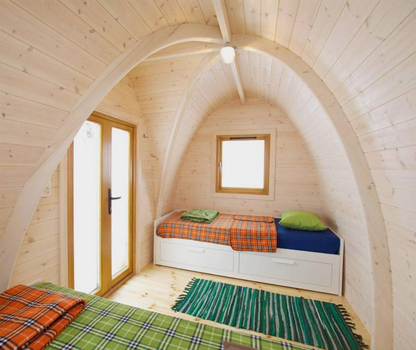 PODhouse creates a great sustainable micro home for the garden, a backyard office or even a holiday hideaway