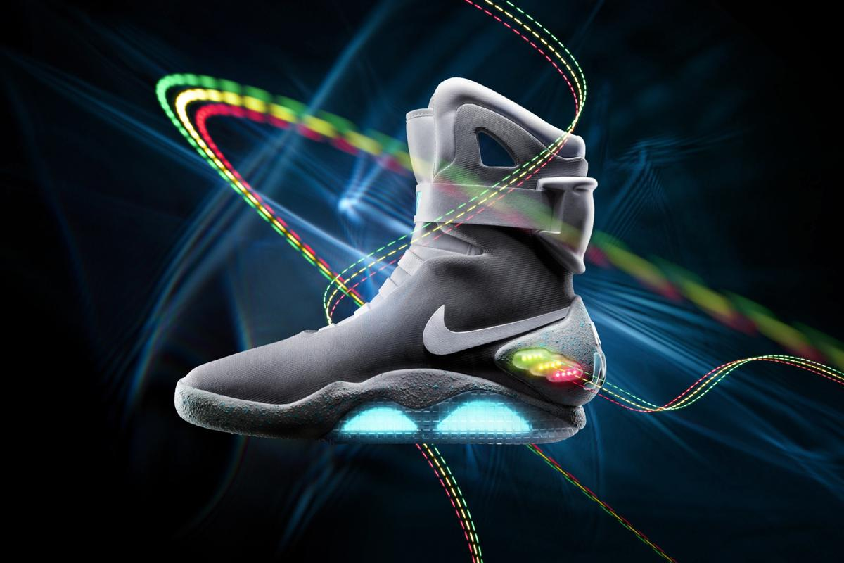 Nike is auctioning off 1,500 pairs of NIKE MAGS, as featured in the movie 'Back to the Future II,' with net proceeds going to The Michael J. Fox Foundation