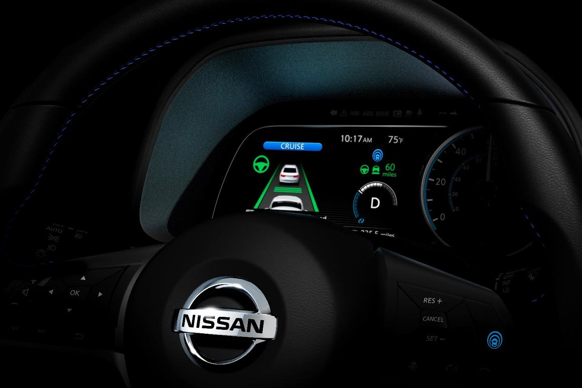 The new Leaf will feature Nissan's ProPILOT Assist technology