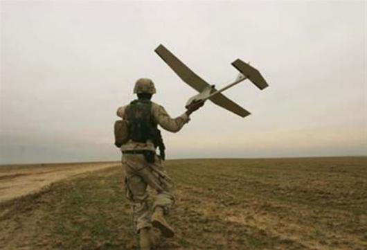 AeroVironment's Raven UAS: hand-launching