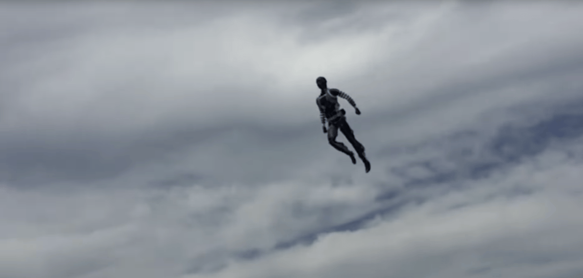 The new Stuntronics robot fromDisney Research can perform autonomous acrobatics in midair before sticking the landing