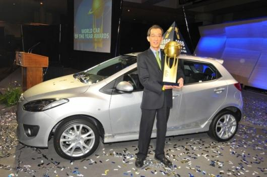 Mazda wins its first COTY