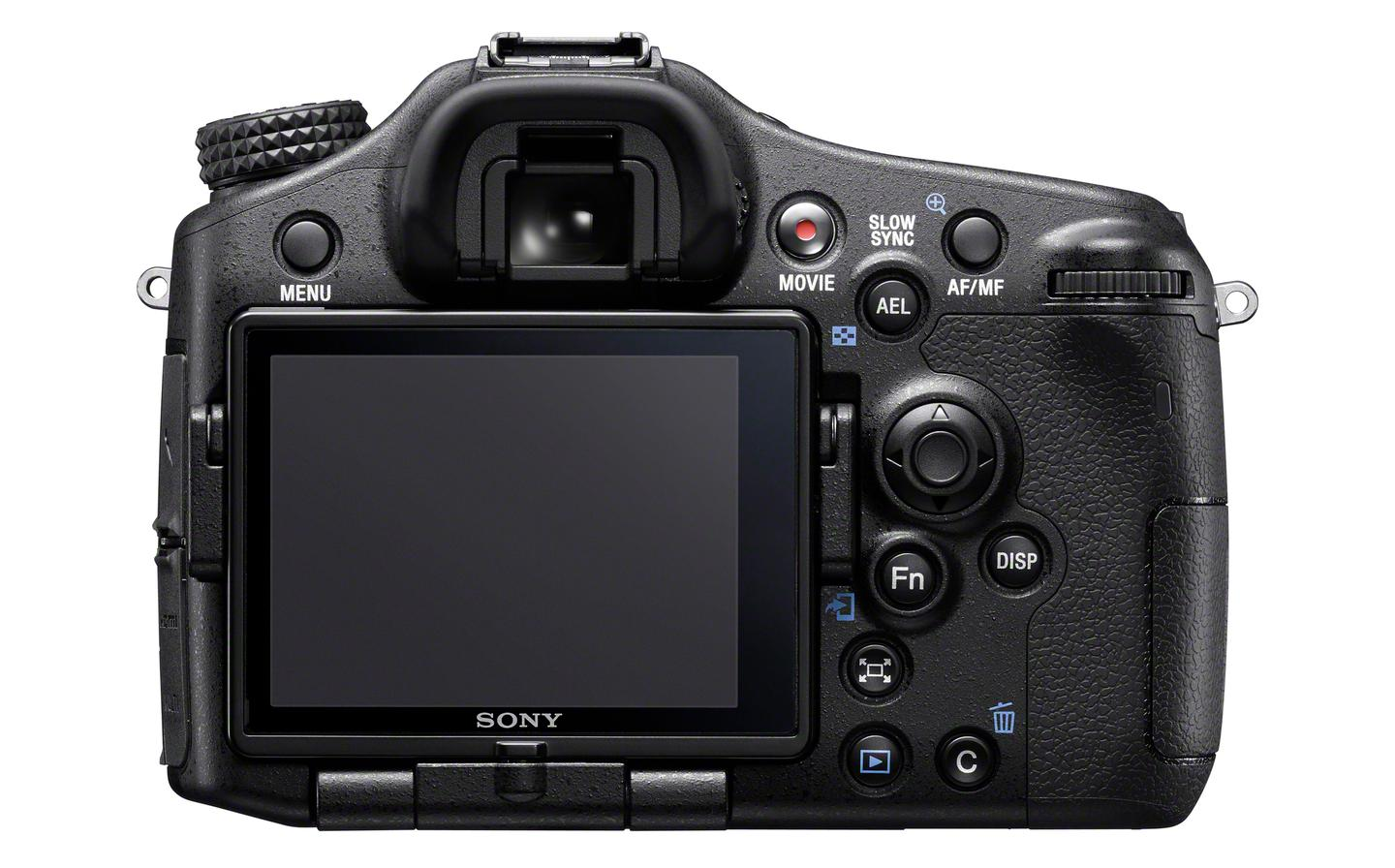 The Sony A77 II has an OLED electronic viewfinder with a 2,359,296 dot effective resolution