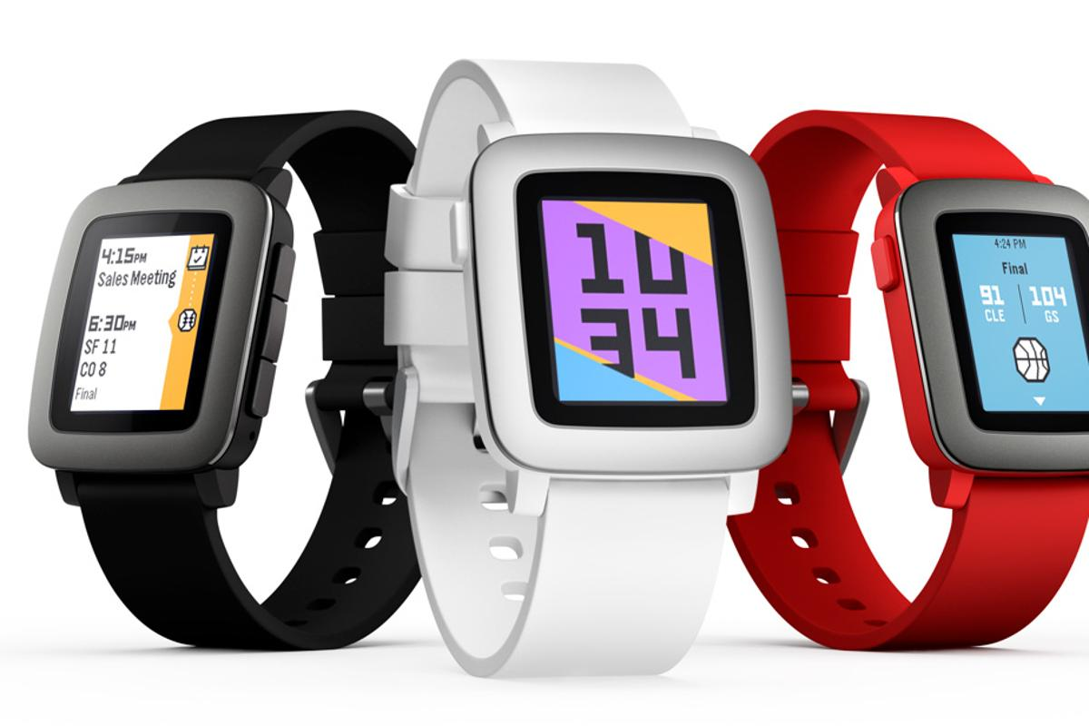 The retail version of Pebble Time is now available for pre-order