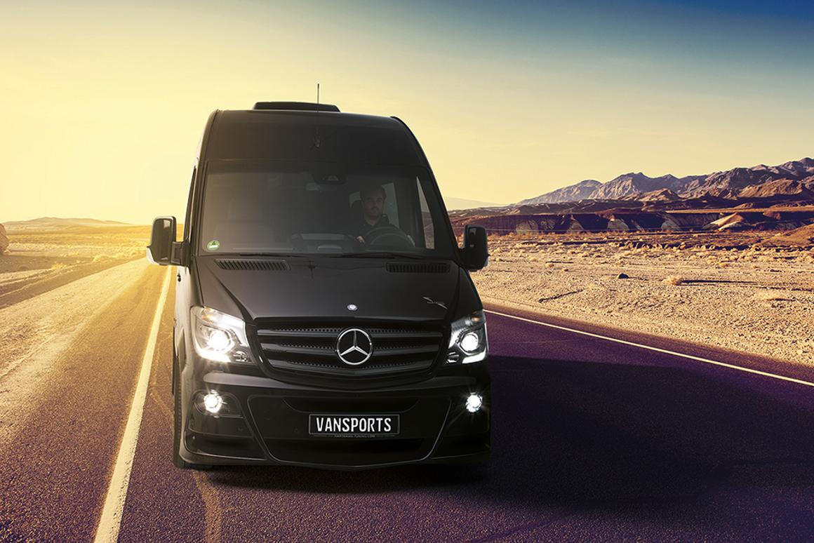 Hartmann Mercedes SP Vansports Camper