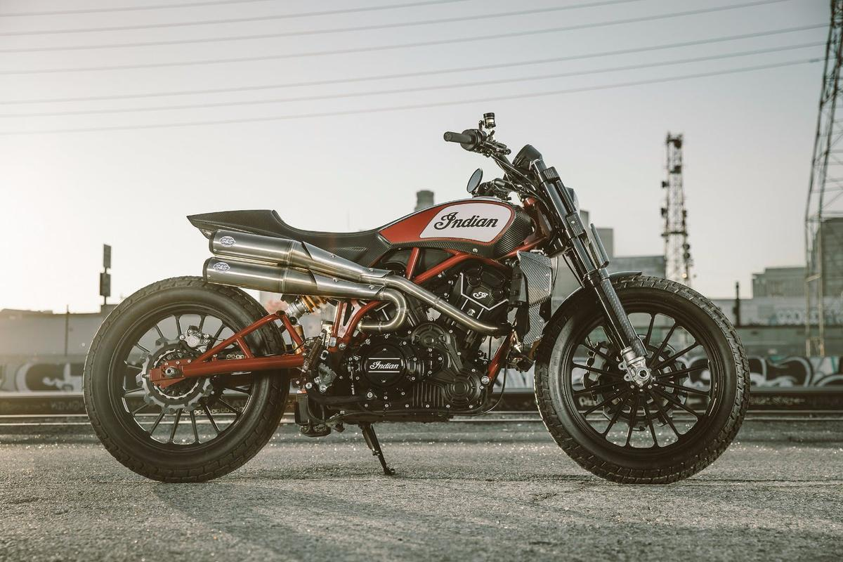 The FTR1200C Custom concept : was never going to be the production machine