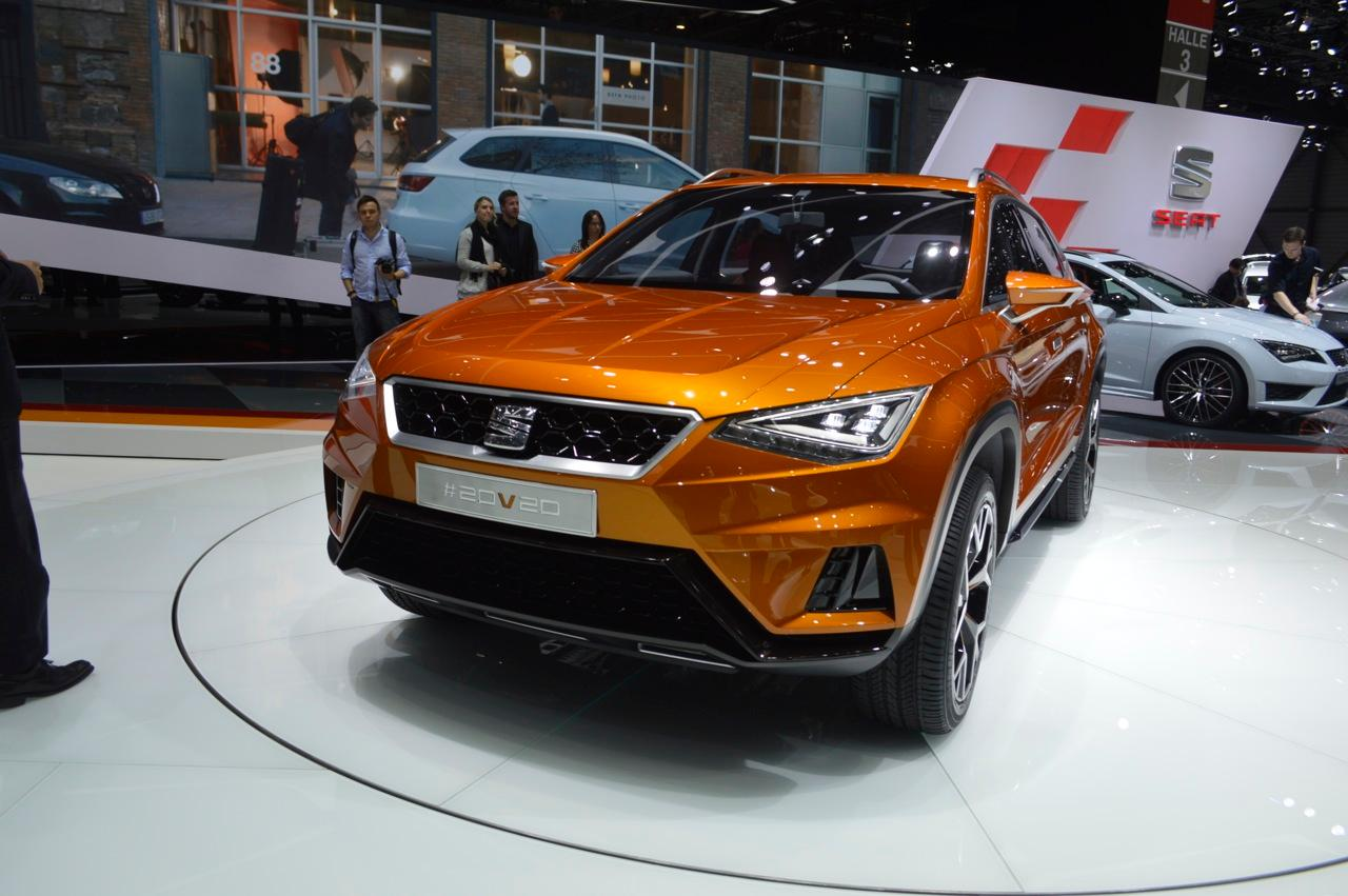 The SEAT 20V20 Concept debuted at the Geneva Motor Show (Photo: C.C. Weiss/Gizmag)