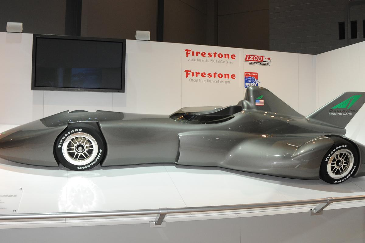 The DeltaWing, proposed to replace the current IndyCar chassis