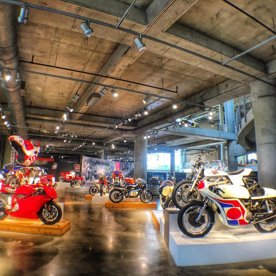 Barber Motorsports Museum -five floors of gearhead nirvana