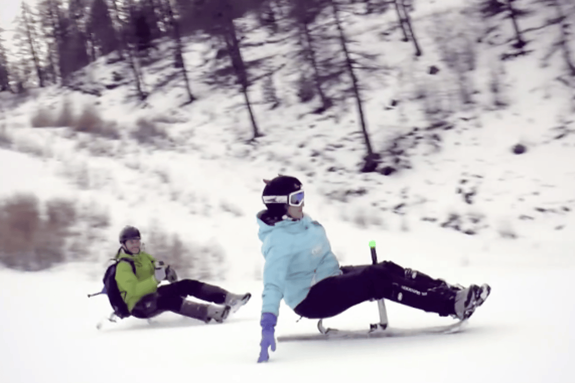 The Zibock offers a new way of finding and riding fresh snow