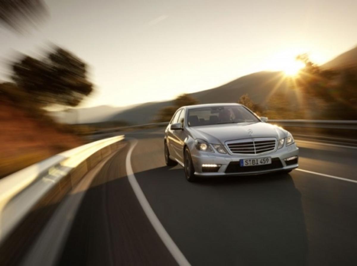 The new Mercedes Benz E63 AMG