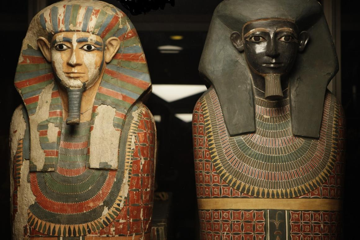 "The ""Two Brothers"" mummies have lived in the Manchester Museum since 1908"