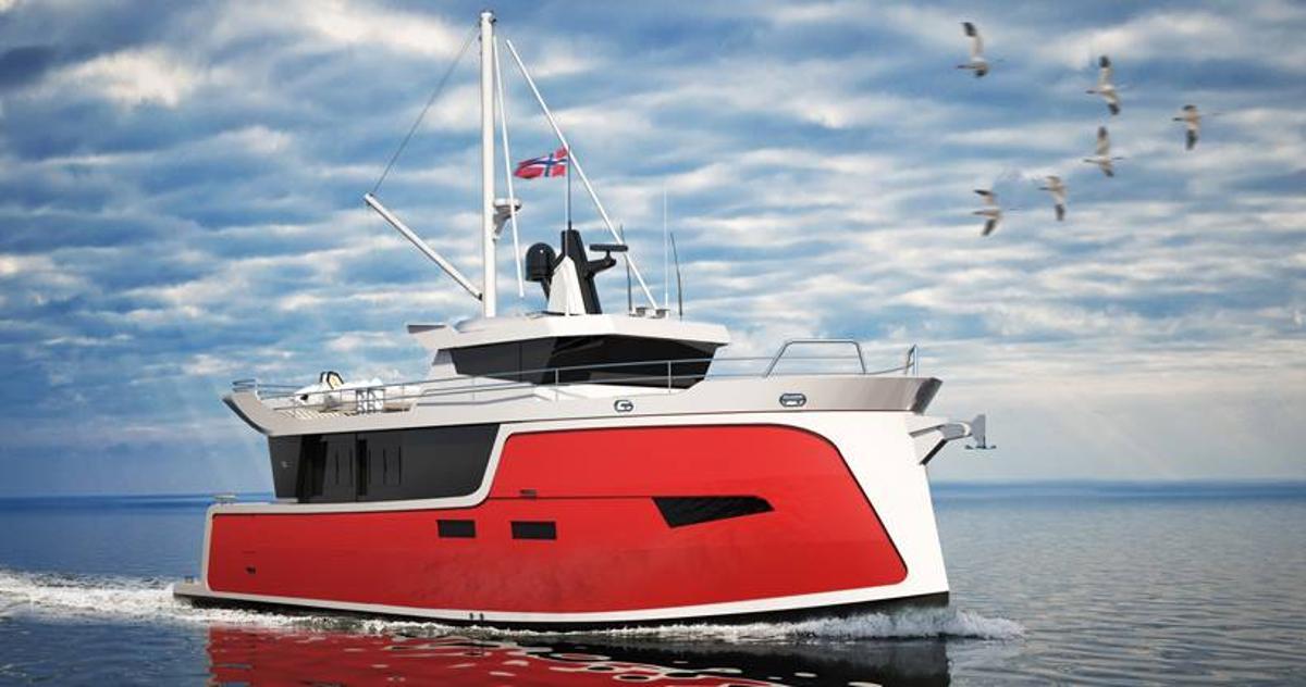 The Trondheim 40 electric trawler