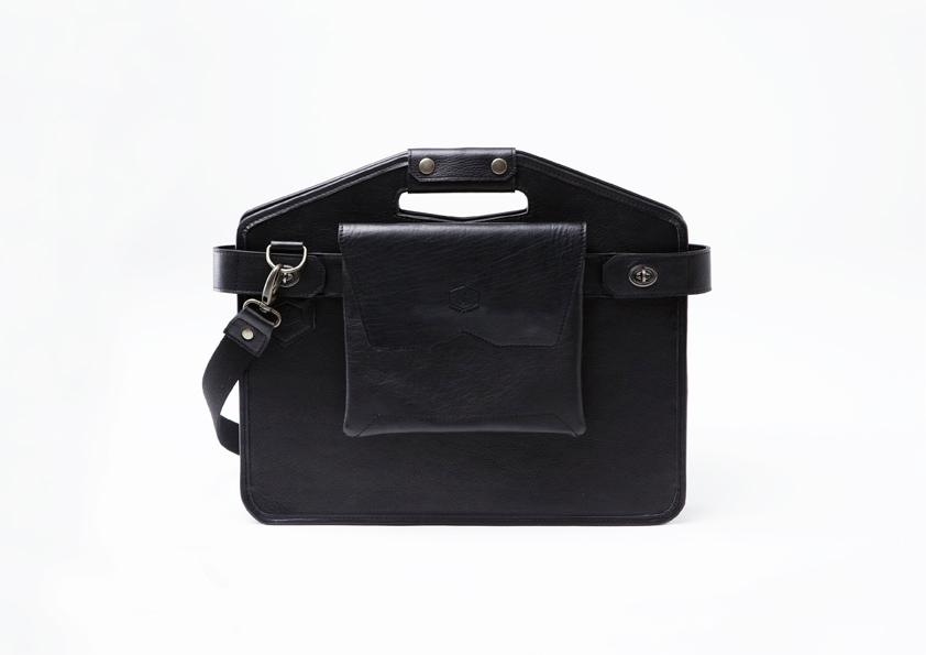 When in briefcase mode, La Fonction No. 1 looks like any other functional satchel