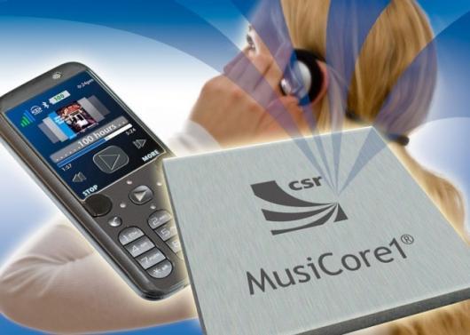 CSR has announced MusiCore1