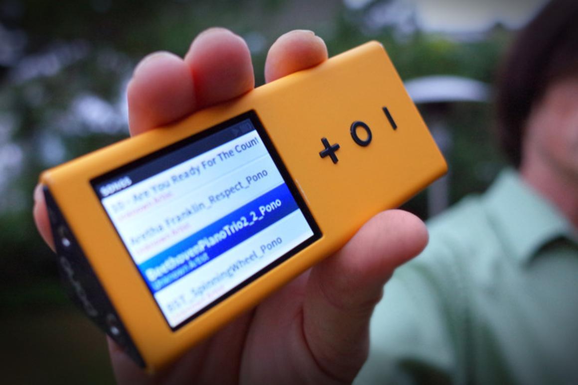PonoMusic's audiophile-quality digital music player