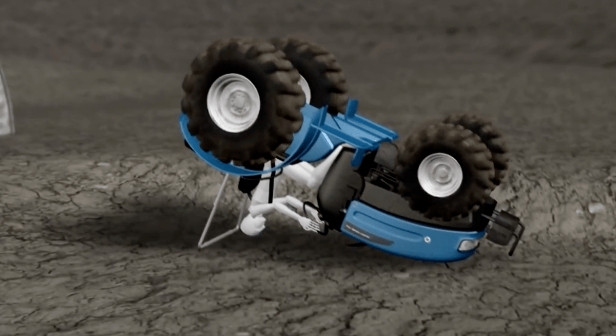 Air-Ropsis designed to keep farm workers safe in the event of a rollover