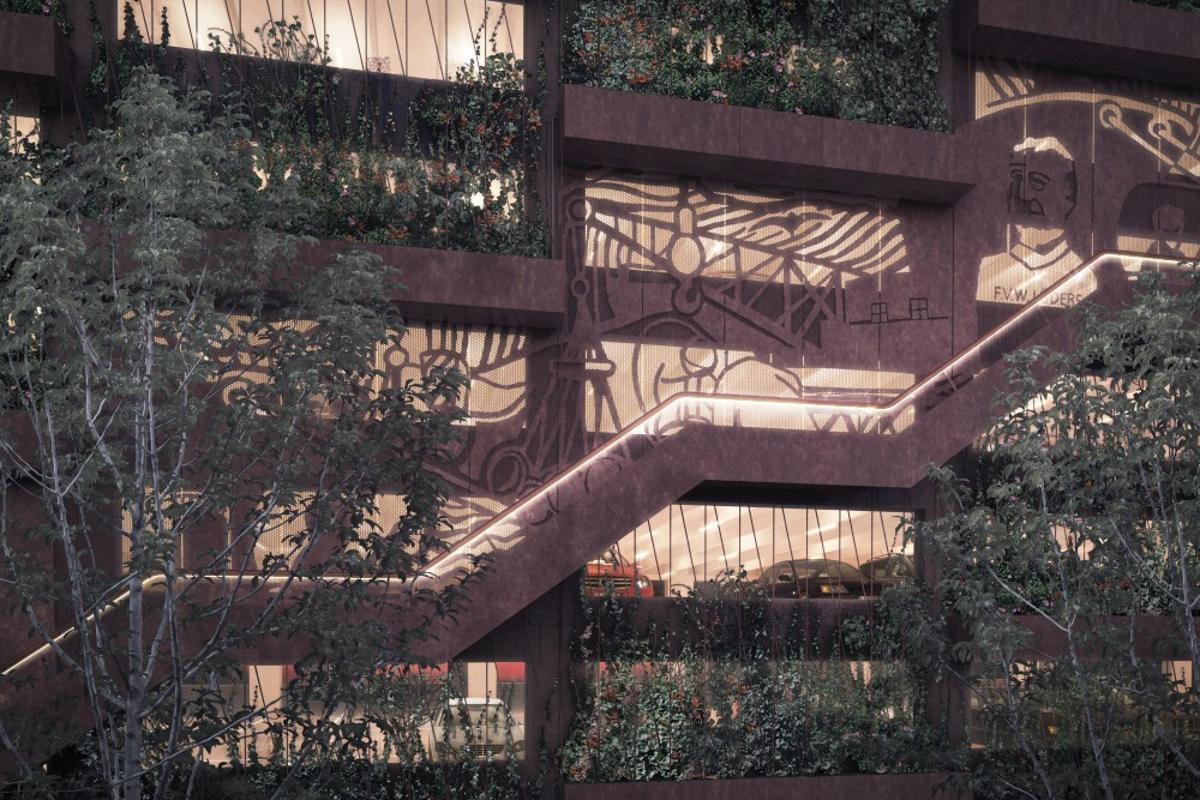 Park 'N' Play, by Danish firm JAJA Architects (Image: JAJA Architects)