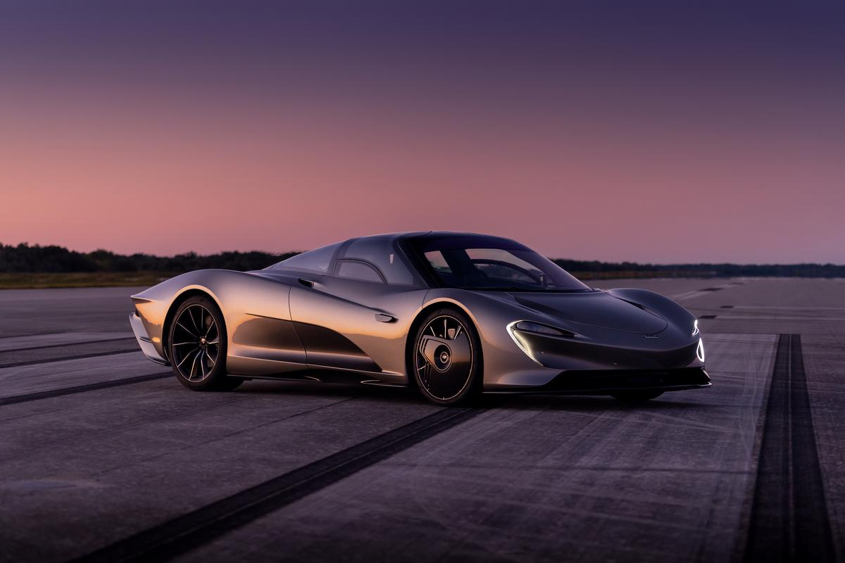 "McLaren's ""Hyper-GT"" Speedtail has been out testing its maximum speed in Florida"