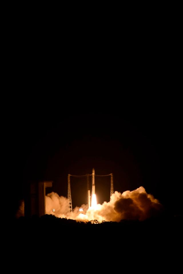 LISA Pathfinder launching atop a Vega rocket