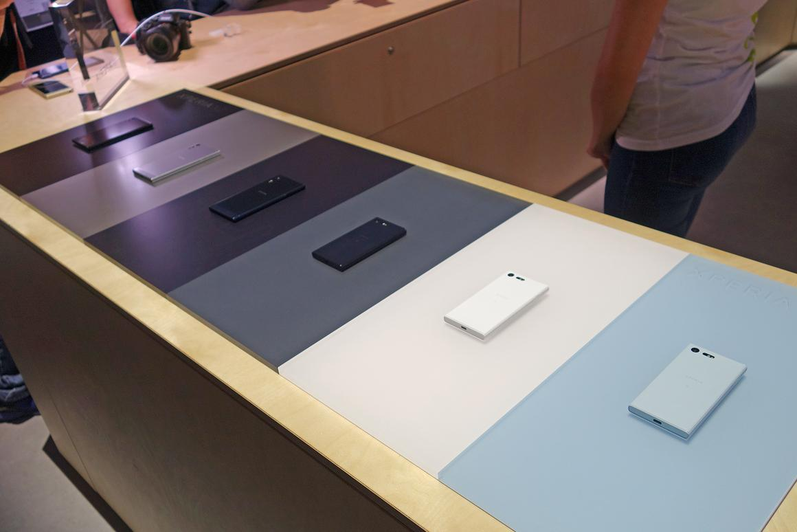 Sony is at IFA2016 – and it has brought phones with it