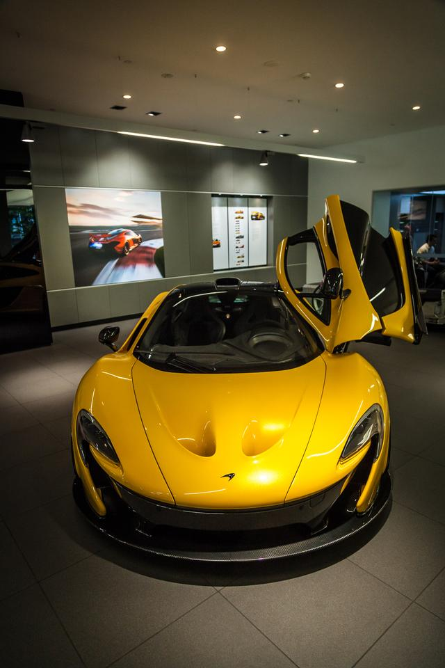 All of the P1's scoops and ducts are functional(Photo: Loz Blain/Gizmag.com)