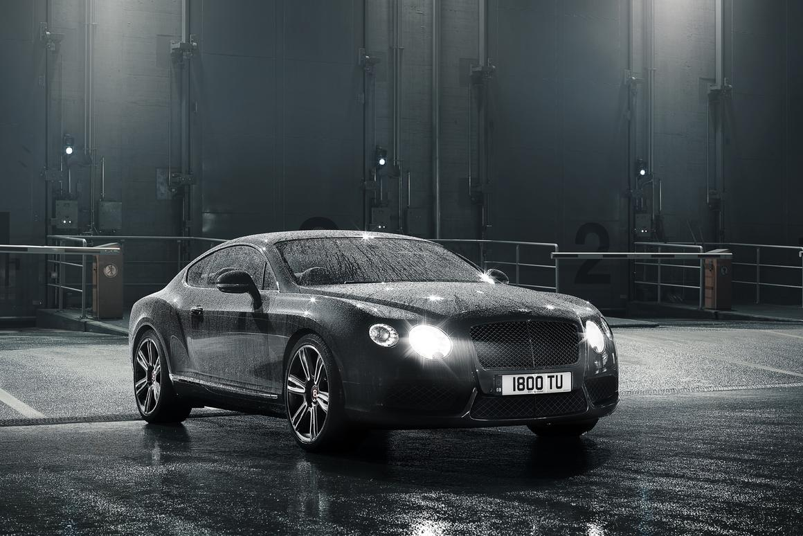 The Bentley V-8 will be available this spring