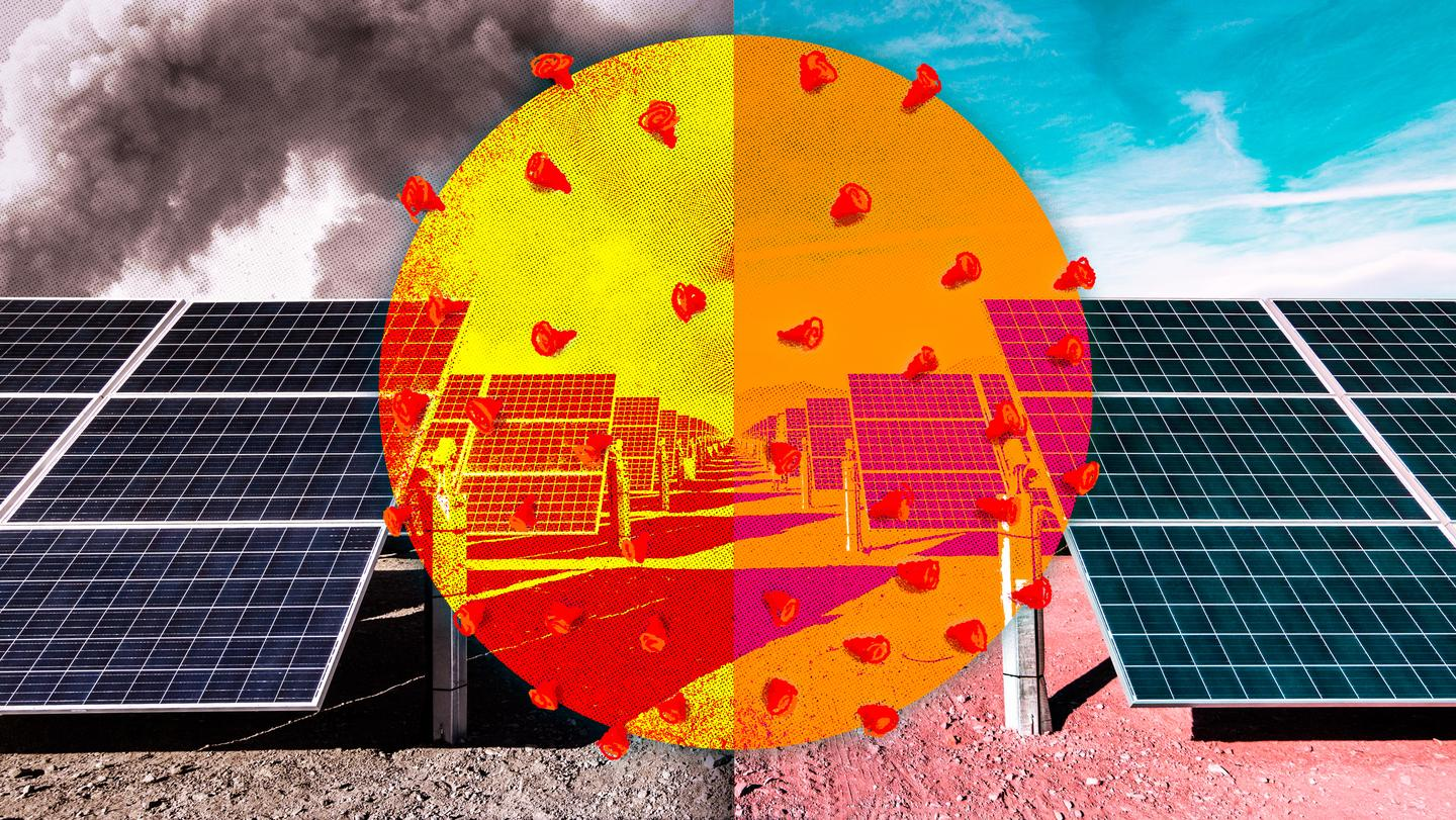 An MIT team has quantified an increase in output from solar panels in Delhi, India, as a result of lower air pollution after lockdown